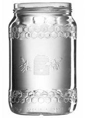 Honigglas Imkerbund in den Größen 0,25 kg,  0,5 kg und 1 kg erhältlich