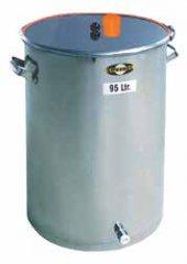 Die Gär-und Lagerfässer aus Edelstahl sind  in den Größen 45 und 95 l erhältlich